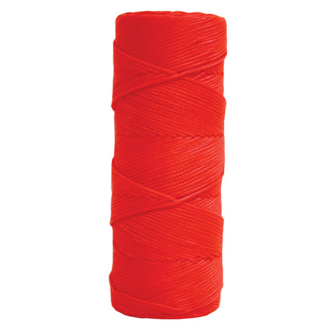 Kraft Fluorescent Orange Braided Nylon Mason's Line - 500' Tube