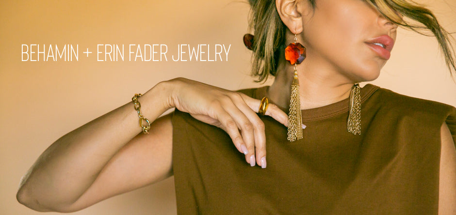 Behamin x Erin Fader Jewelry Collab