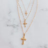 The Nativity Cross Necklace