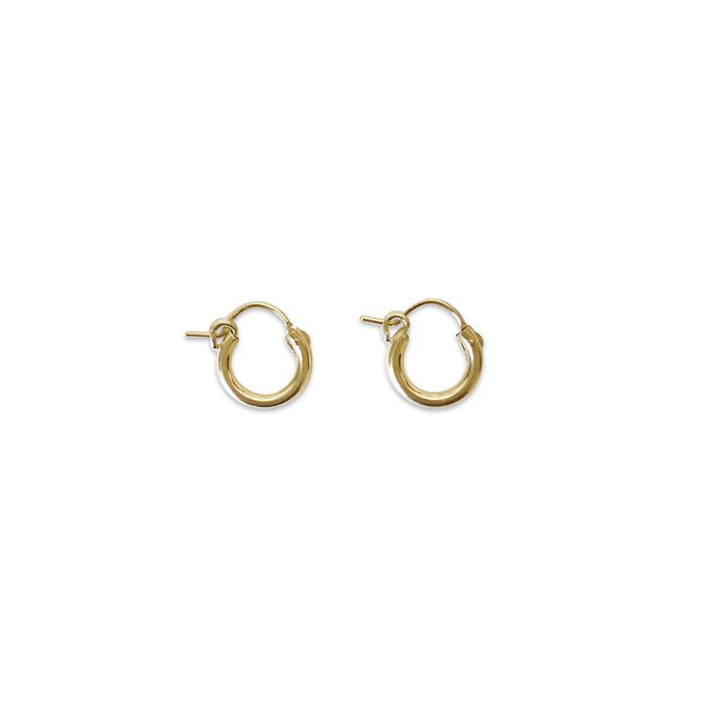 12mm Baby Hoop Earrings