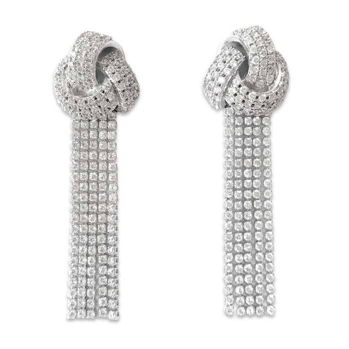 All That Glitters Tassel Earrings