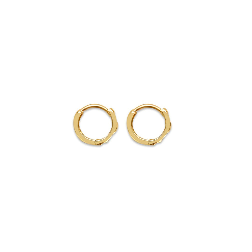 14k Baby Hoop Earrings