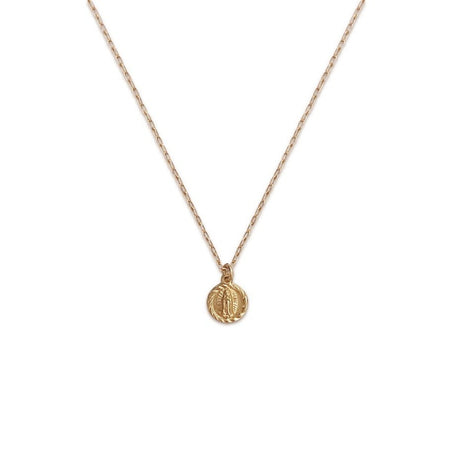Miraculous Mary Medallion Necklace