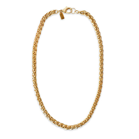 Rounded Link Necklace