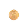 Zodiac Medallion Necklace - Aries