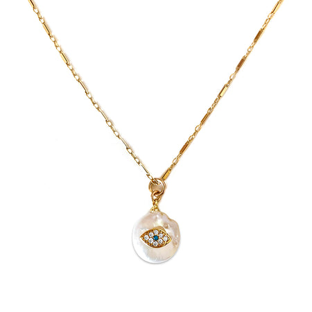 Eye See Truth Necklace - Tayshia x EFJD