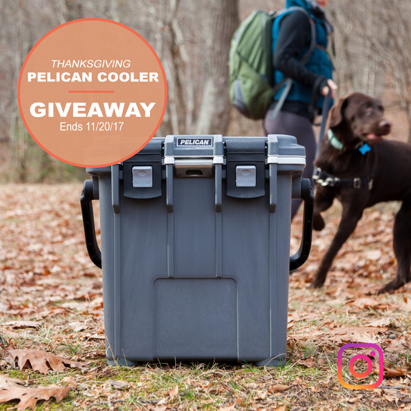 Thanksgiving Instagram Giveaway! 20QT Pelican Elite Cooler