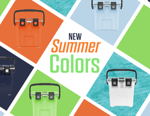 New Summer Cooler Colors - Available in 20Qt, 30Qt, 50Qt