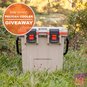 INSTAGRAM GIVEAWAY // 20QT PELICAN™ ELITE COOLER
