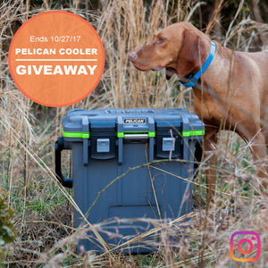 Instagram Giveaway! 20QT Pelican Elite Cooler