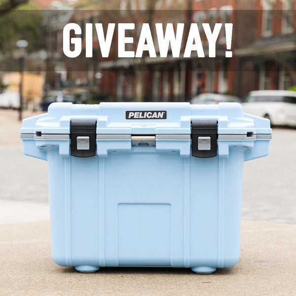 Light Blue Pelican Cooler Giveaway | Ends 4/30/18