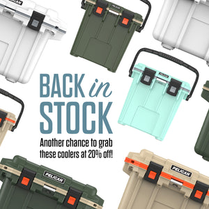 Your favorite coolers are back in stock!