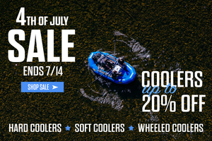 4th of July Sale begins now! | Coolers up to 20% off