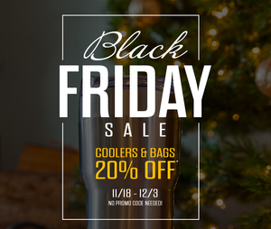 Black Friday Sale 11/18 - 12/3/18