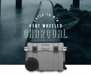 45QT Wheeled Charcoal Giveaway