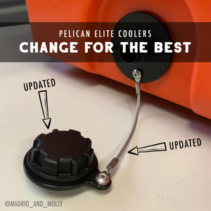 Pelican Elite Coolers Drain Plugs Updated