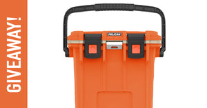 Orange 20Qt Pelican Cooler Giveaway! Ends August 31st