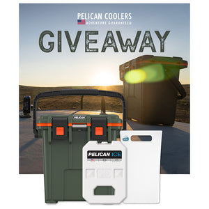 Pelican 20QT Elite Cooler + Accessories Giveaway