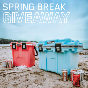 Spring Break Giveaway 🍷 MANCAN Wine + Pelican Coolers