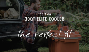 Pelican 30QT Elite Cooler: The Perfect Fit