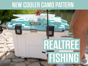 New Product: Realtree Fishing/White Cooler