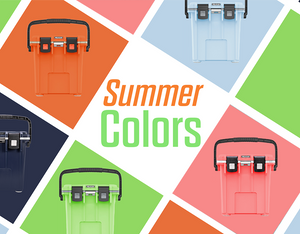 Summer colors only available at PelicanCoolers.com