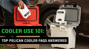 Cooler Use 101: Top Pelican Cooler FAQs Answered