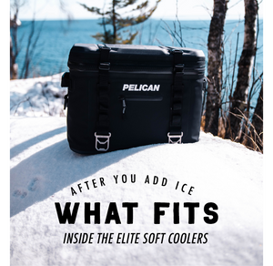 What Fits Inside the Elite Soft Coolers