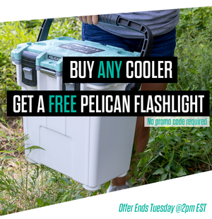 Be ready for Hurricane Florence with a FREE Pelican flashlight