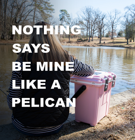 Nothing says be mine like a Pelican™ | Pink 20QT Pelican Elite Cooler | Valentine's Day 2018