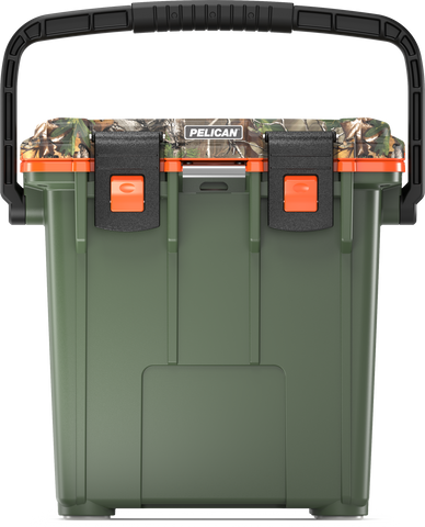 20QT Pelican Elite Cooler Realtree Xtra OD Green