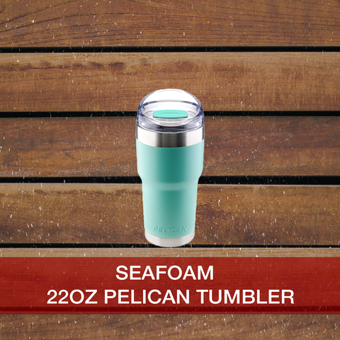 Buy now 22oz Seafoam Pelican Tumbler