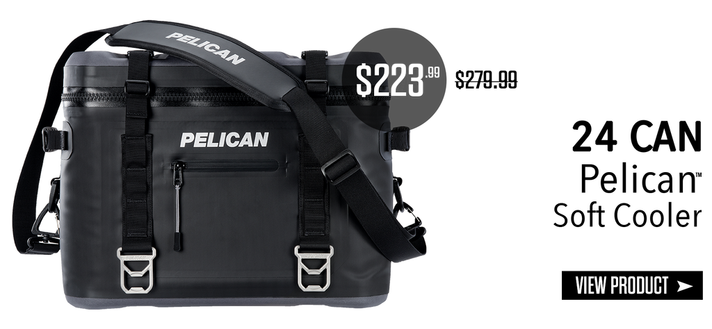24 Can Pelican Soft Cooler on sale for Father's Day 2018