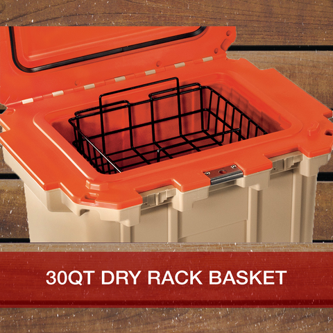 Buy Now 30QT Pelican Elite Cooler Dry Rack Basket
