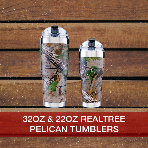 Buy now Realtree 22oz & 32ozPelican Tumblers