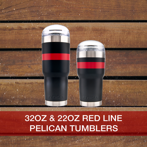 Buy now Red Line 22oz & 32oz Pelican Tumblers