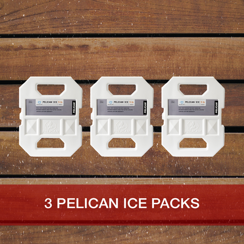 Buy now 3: Pelican 5lb Ice Packs