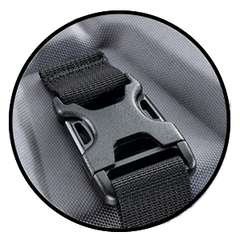 QUICK ACCESS DUAL-LOCK BUCKLE SYSTEM