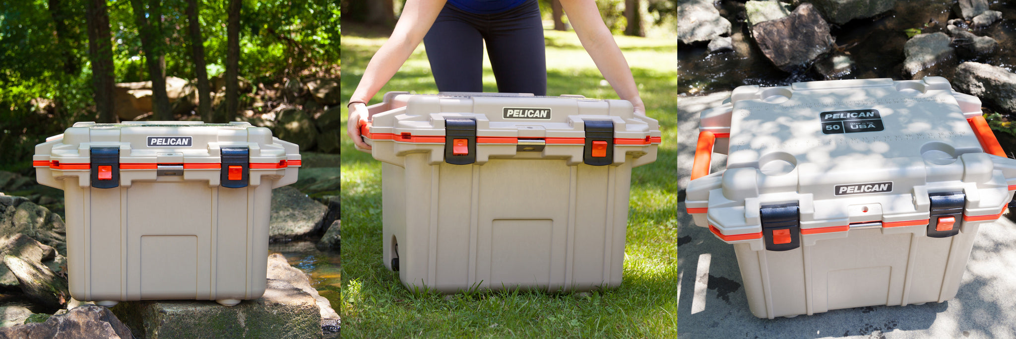 50QT Pelican Elite Coolers Application Images