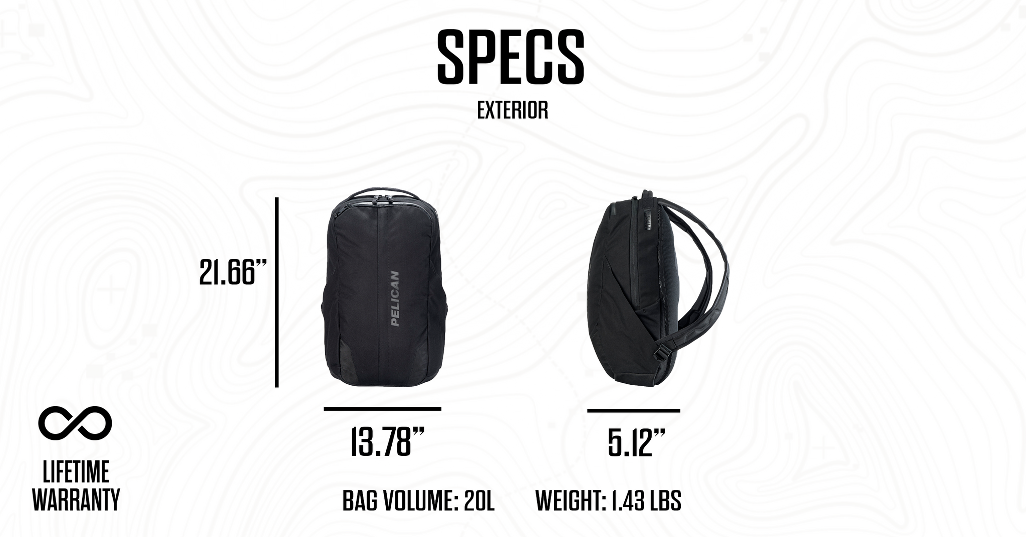 Pelican MPB20 Backpack Specs