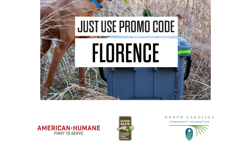 use promo code: FLORENCE for free tumbler and donation