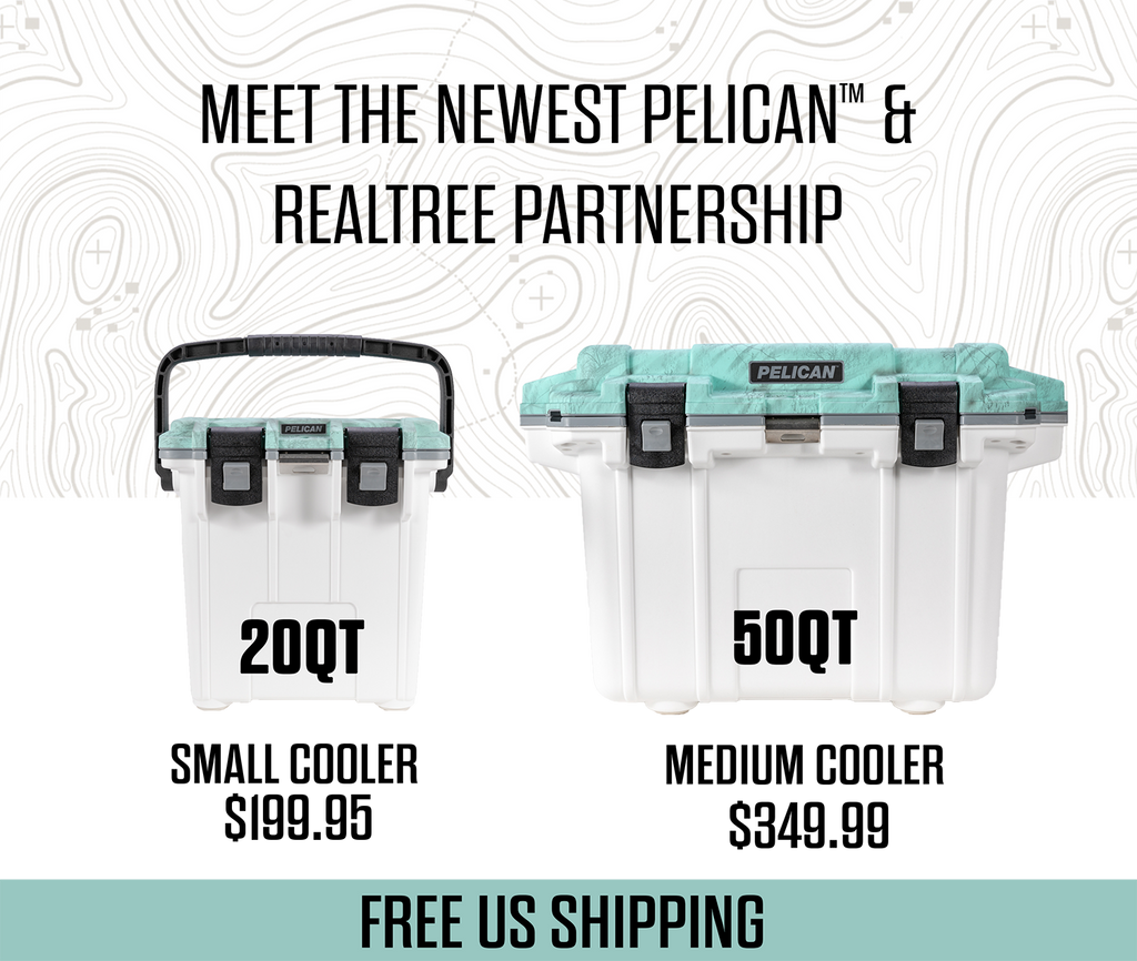 The newest Pelican + Realtree Partnership is here.