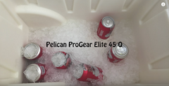 Pelican Elite Cooler Ice Challenge