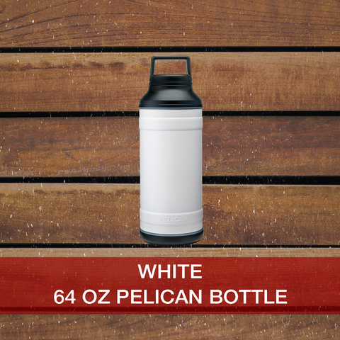 Shop now 64oz White Pelican Bottle