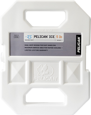 Pelican 5lb Reusable Ice Accessory - PelicanCoolers.com