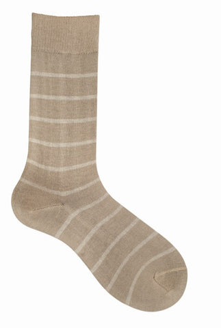 10002 Mens Socks - Classic Stripe Ank