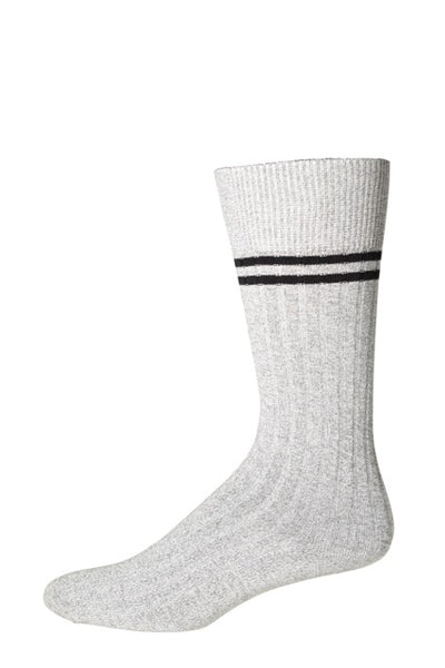 10260 J.M. Dickens Mens Socks - Ribbed Tube Ank