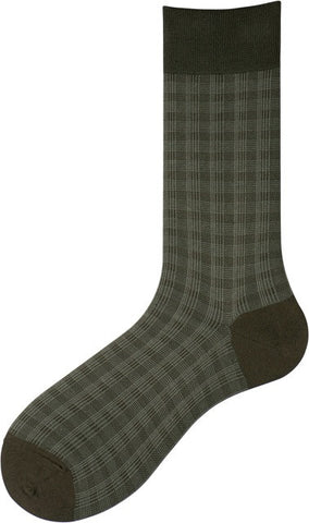 301157 Mens Socks - Overcheck Ank
