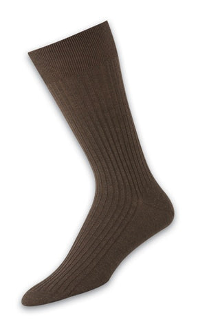 302002 Mens Socks - 5x3 Rib Ank