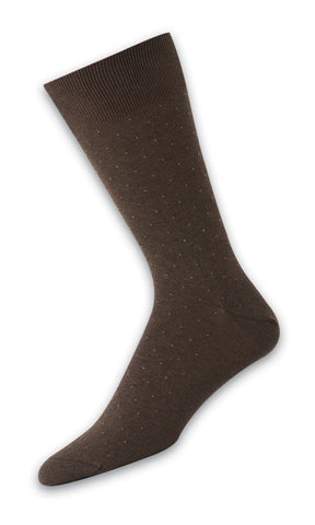 302007 Mens Socks - Pindot Ank